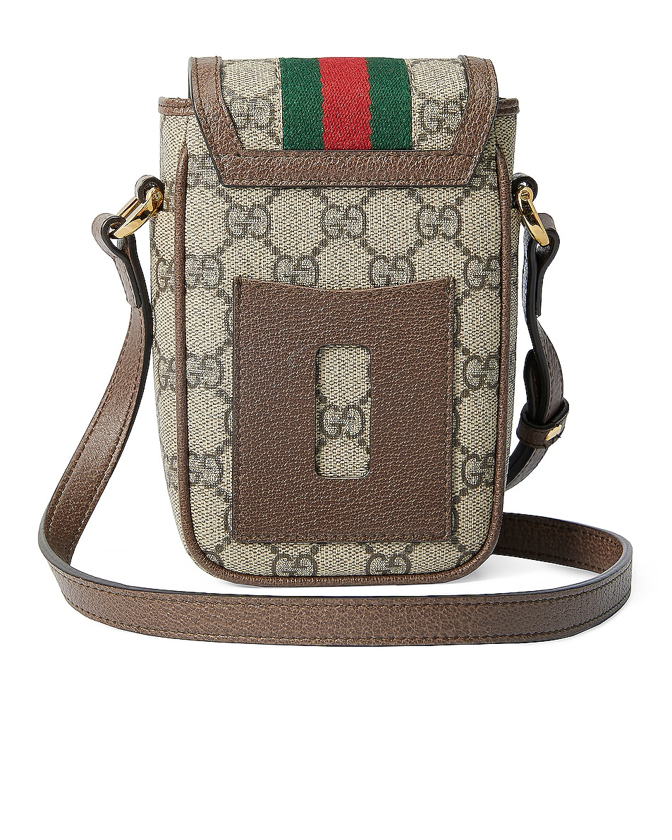 Image 3 of Gucci Ophidia GG Chain Bag in Beige Ebony