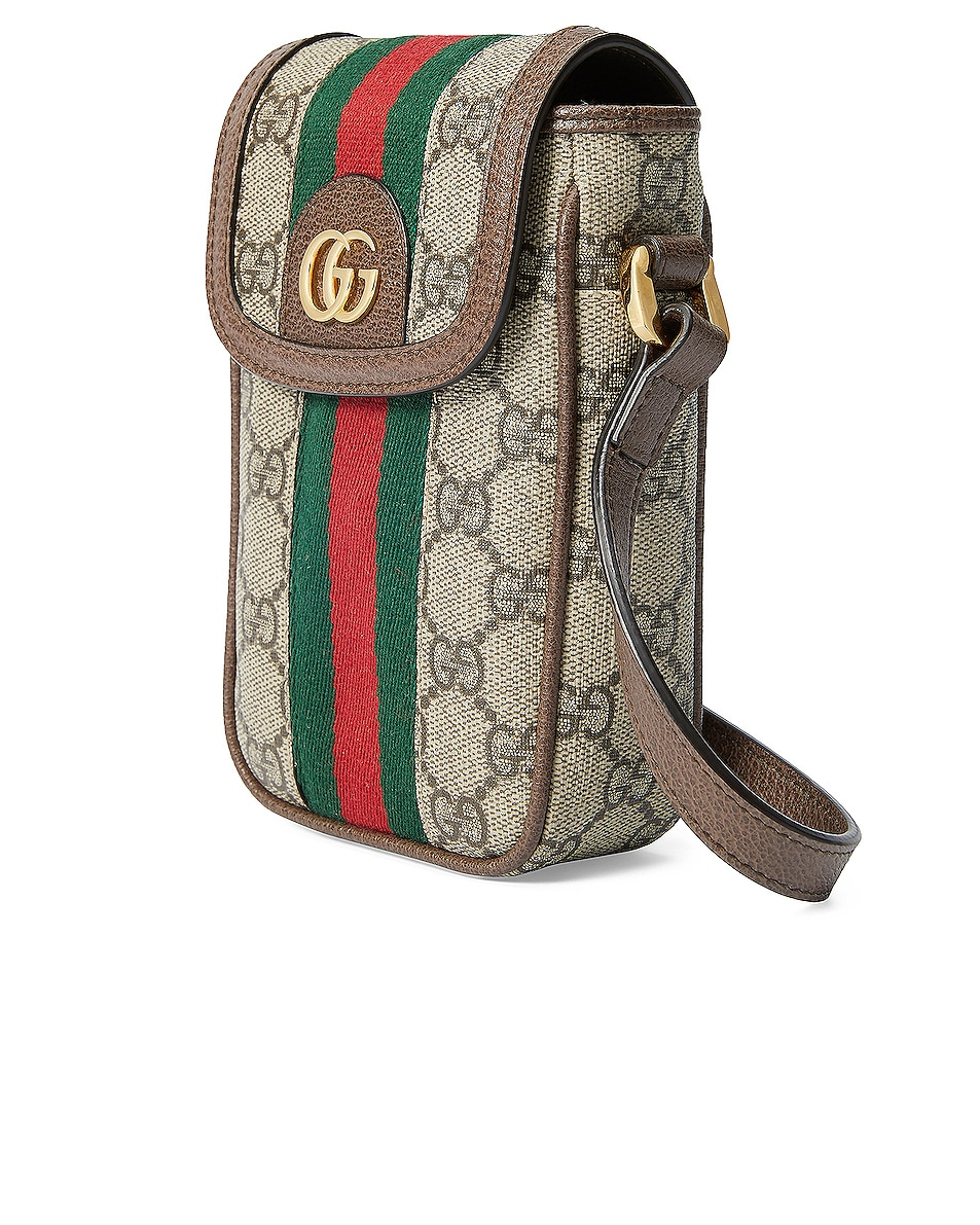 Image 4 of Gucci Ophidia GG Chain Bag in Beige Ebony