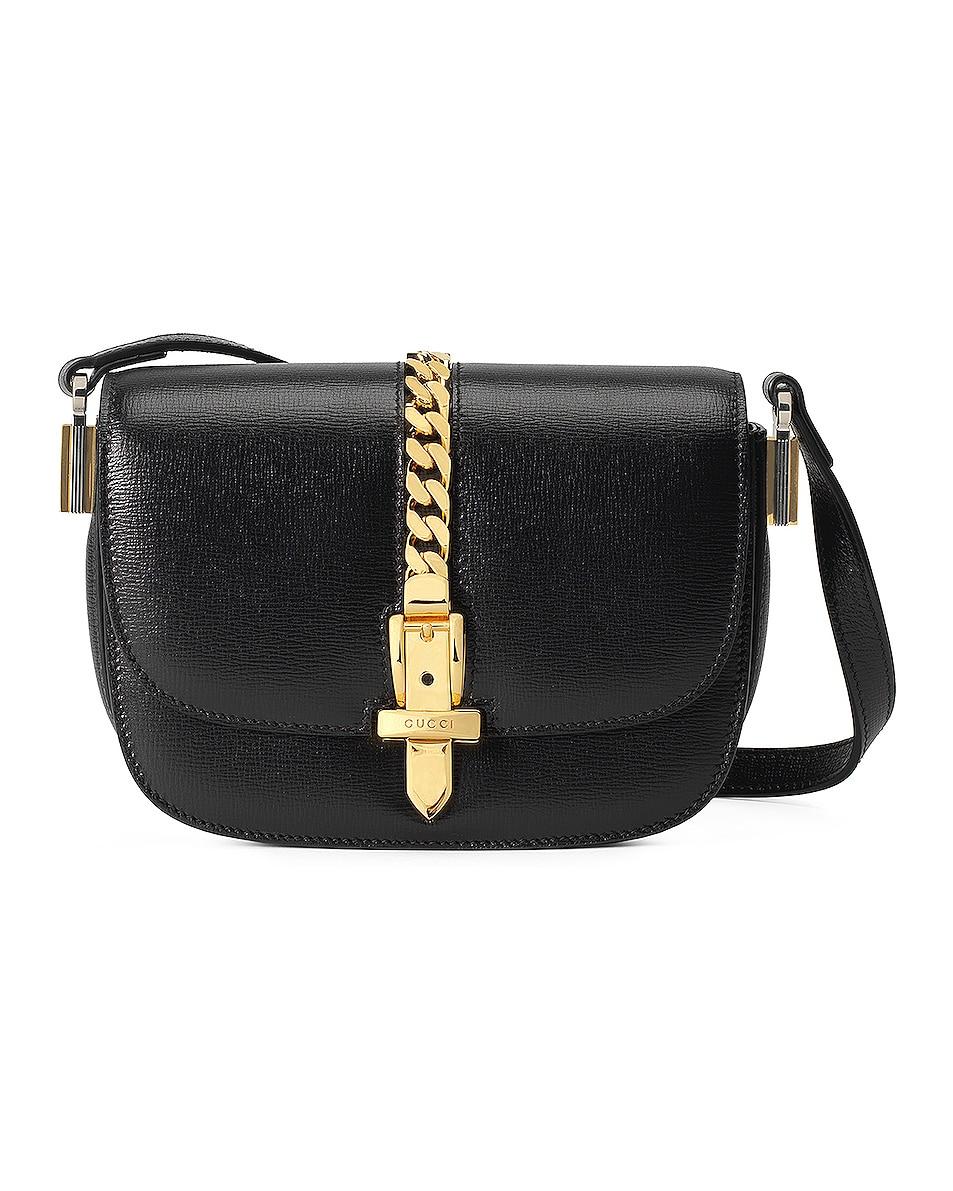 Image 1 of Gucci Sylvie 1969 Bag in Black