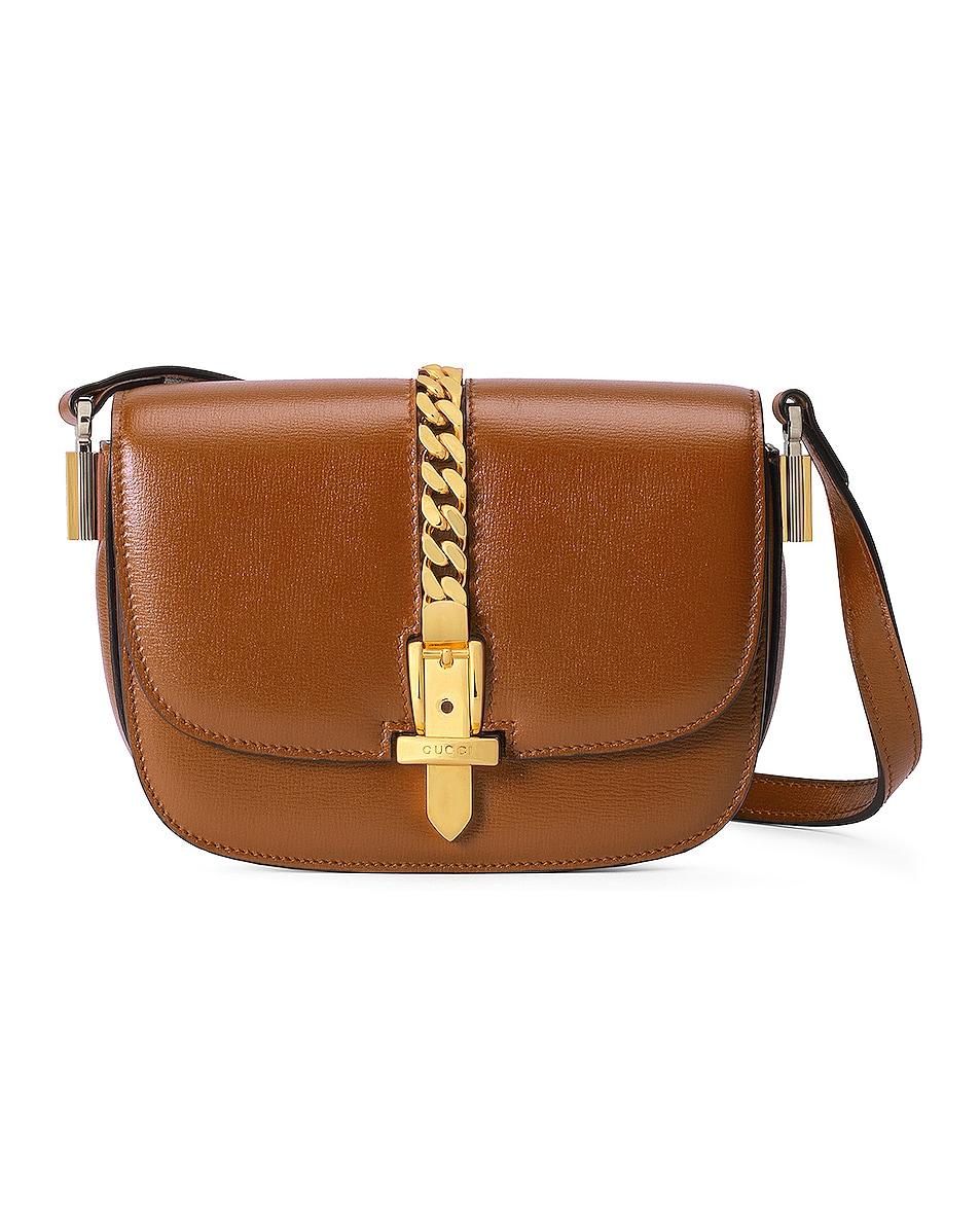 Image 1 of Gucci Sylvie 1969 Bag in Cuir