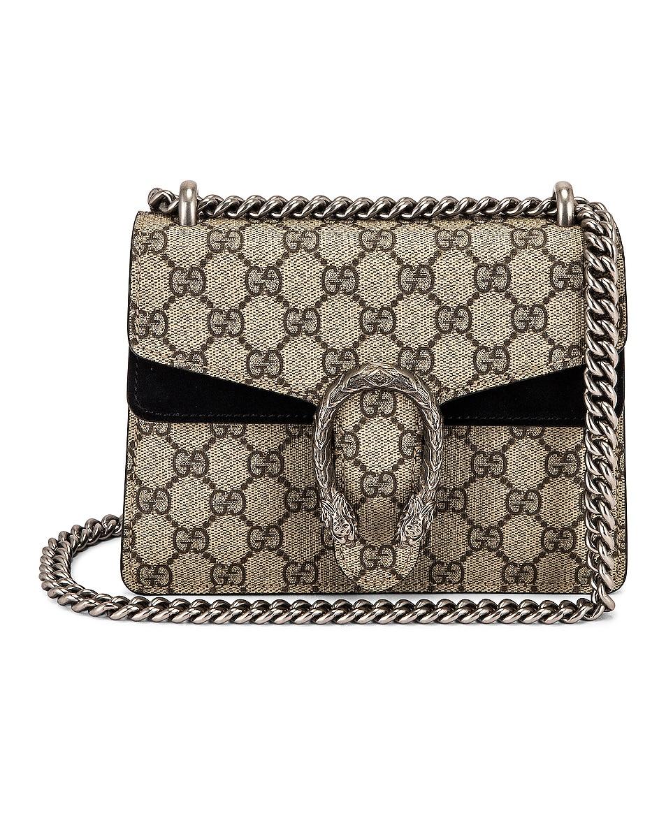 Image 1 of Gucci Dionysus GG Shoulder Bag in Beige Ebony & Black