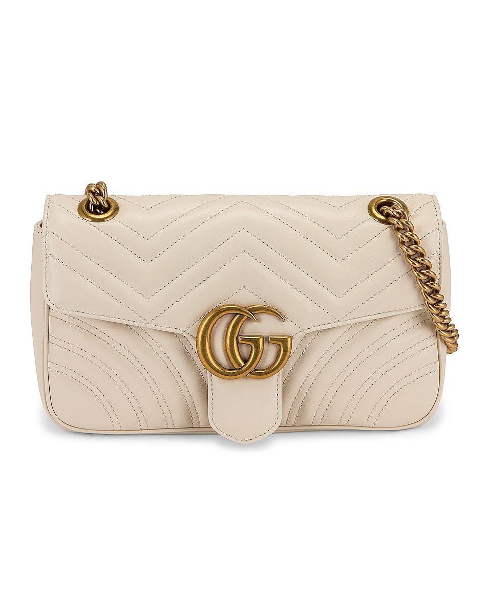 Image 1 of Gucci GG Marmont 2.0 Shoulder Bag in White