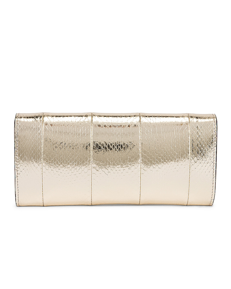 Image 3 of Gucci Broadway Evening Clutch in Platino