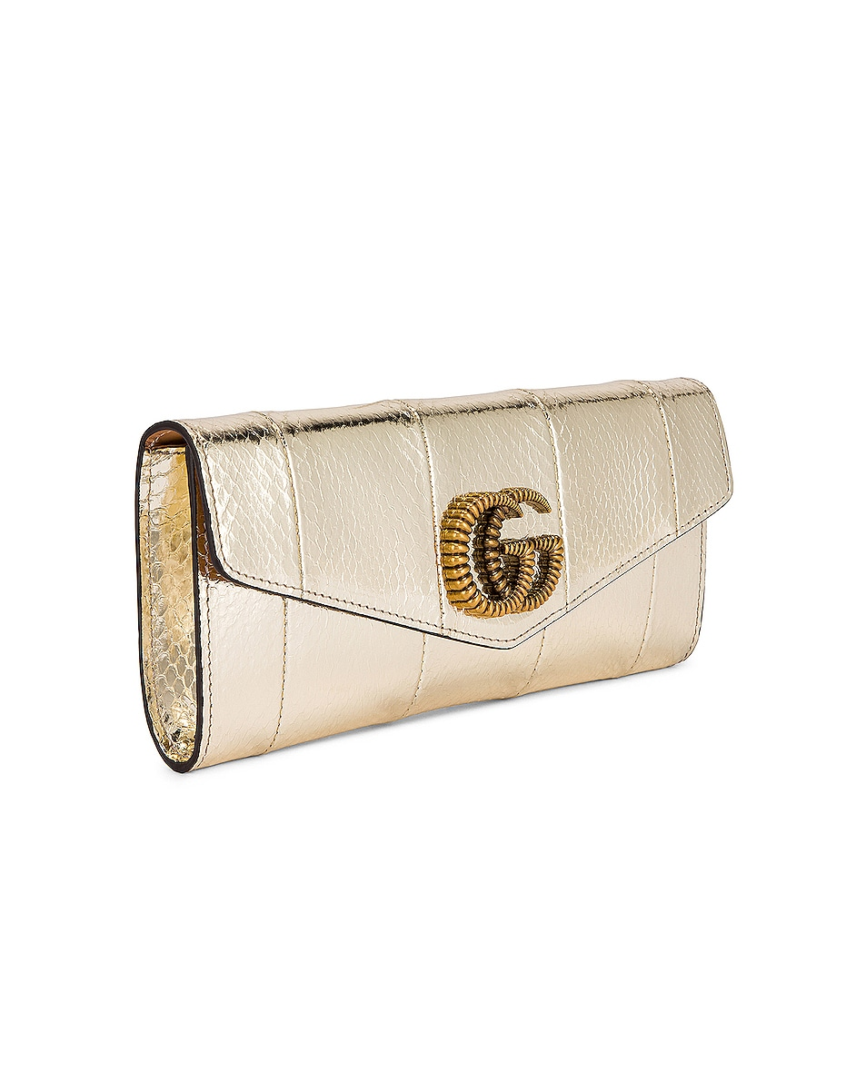 Image 4 of Gucci Broadway Evening Clutch in Platino