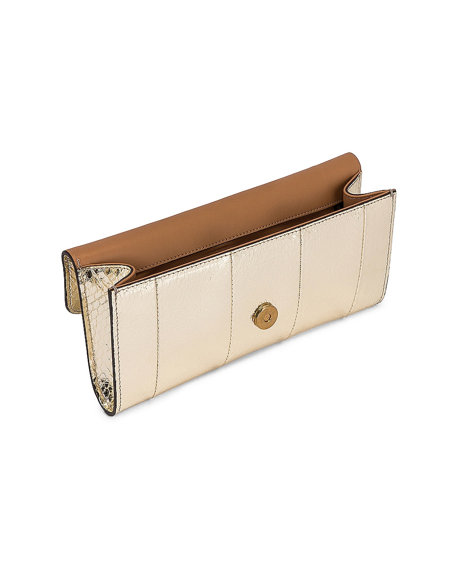 Image 5 of Gucci Broadway Evening Clutch in Platino