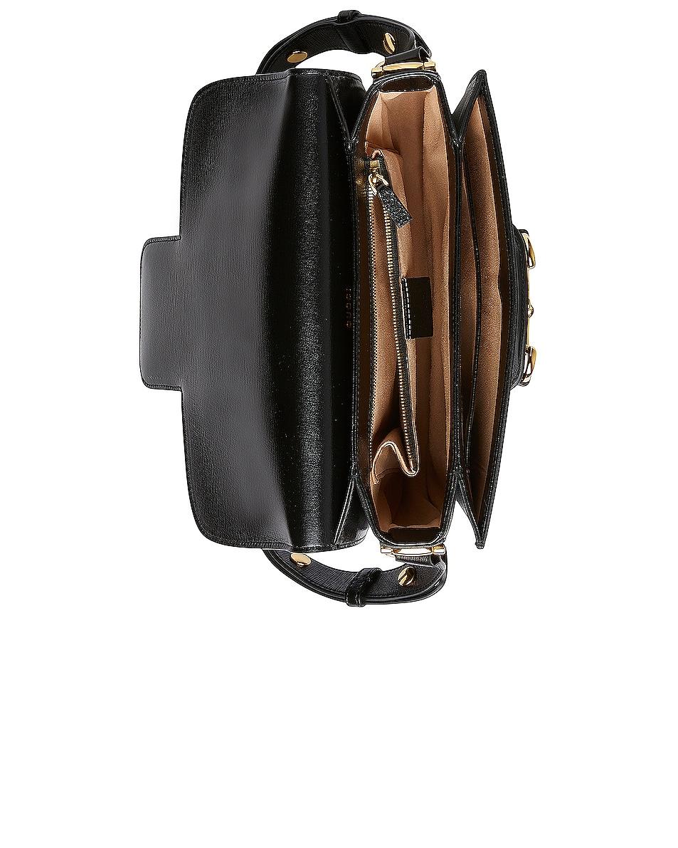 Image 5 of Gucci Morsetto Camera Bag in Black