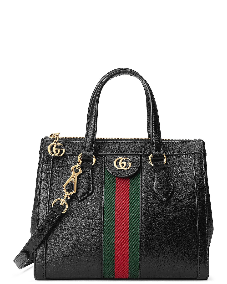 Image 1 of Gucci Ophidia Tote in Black