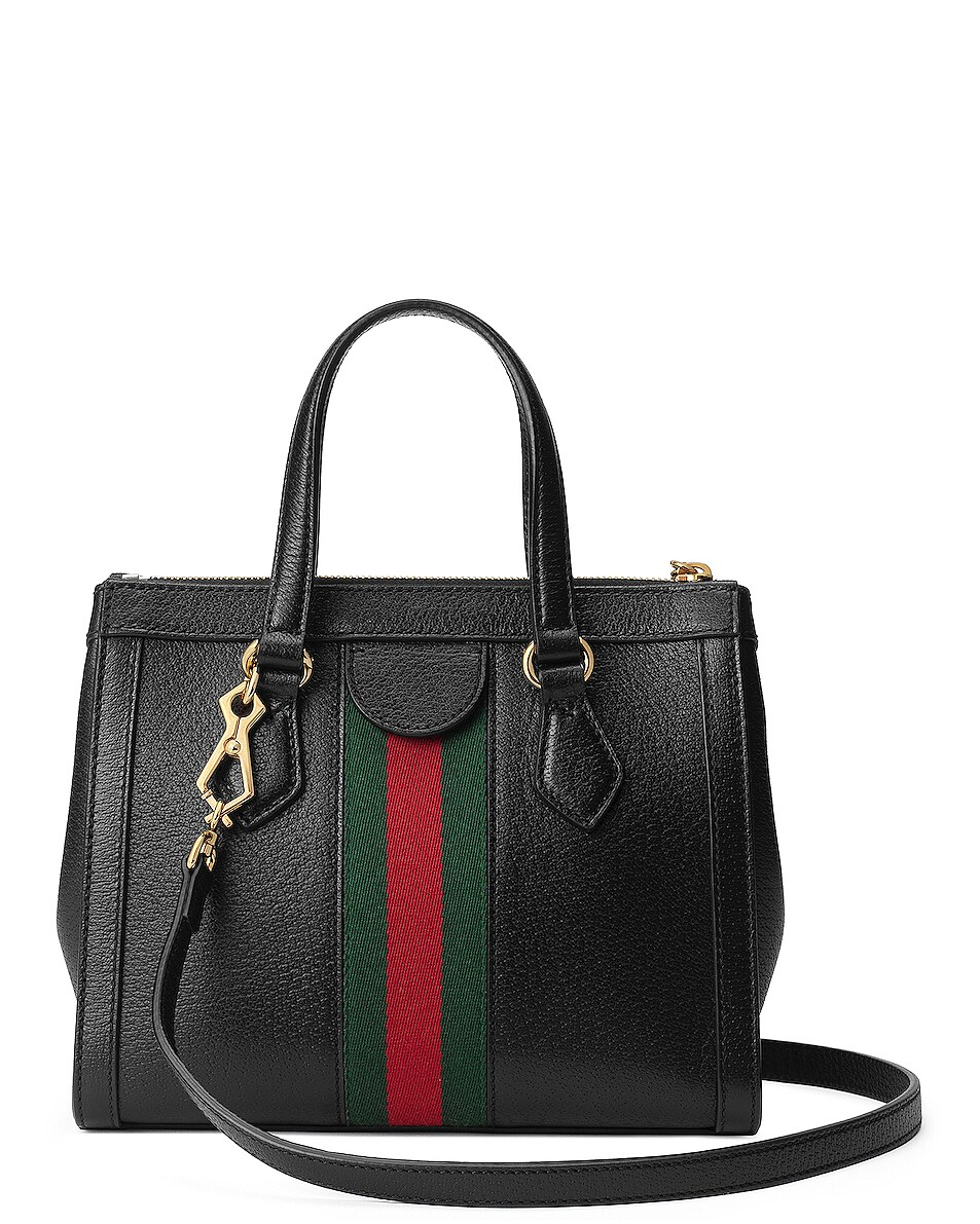 Image 3 of Gucci Ophidia Tote in Black