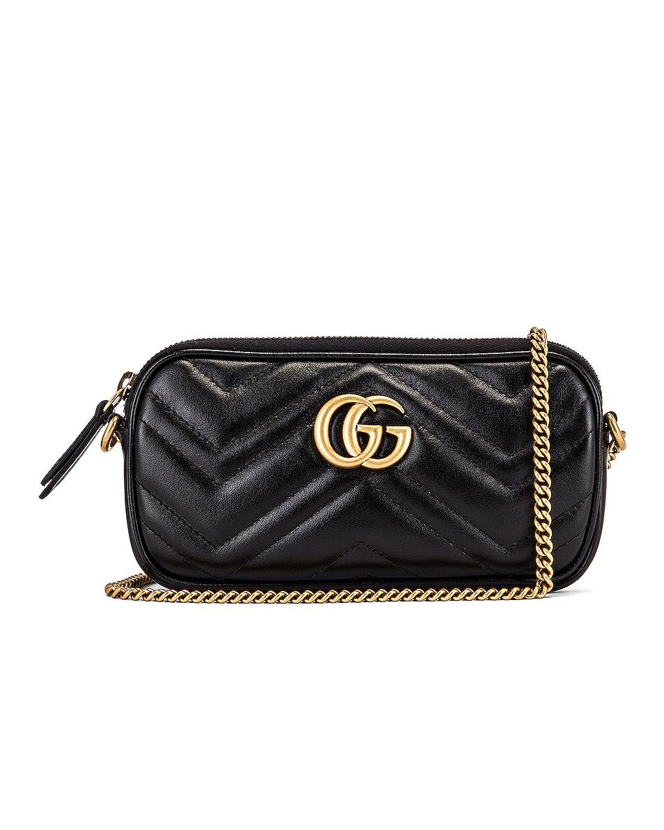 Image 1 of Gucci Chain Camera Bag in Black