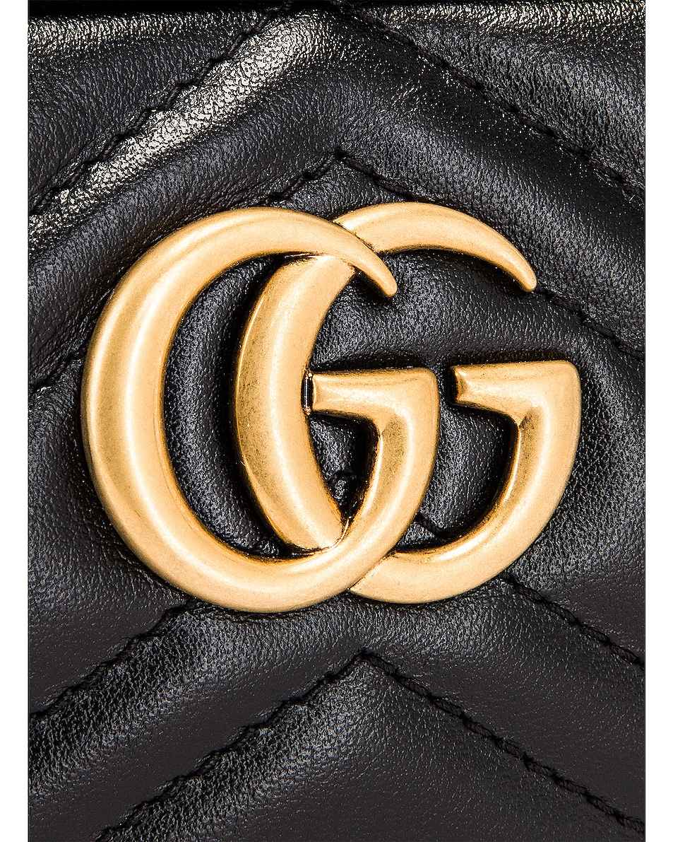 Image 8 of Gucci Chain Camera Bag in Black