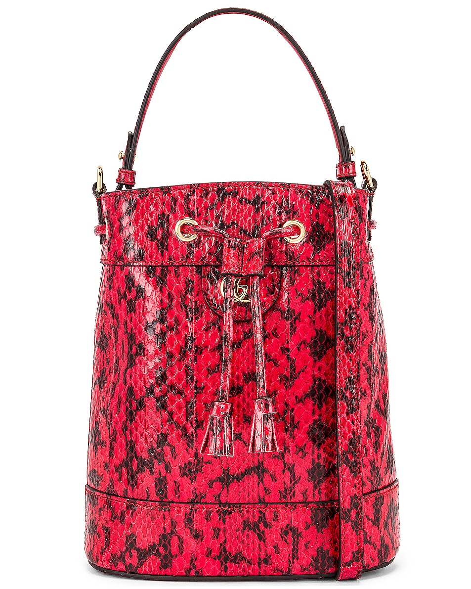 Image 1 of Gucci Ophidia Shoulder Bag in Hibiscus Red