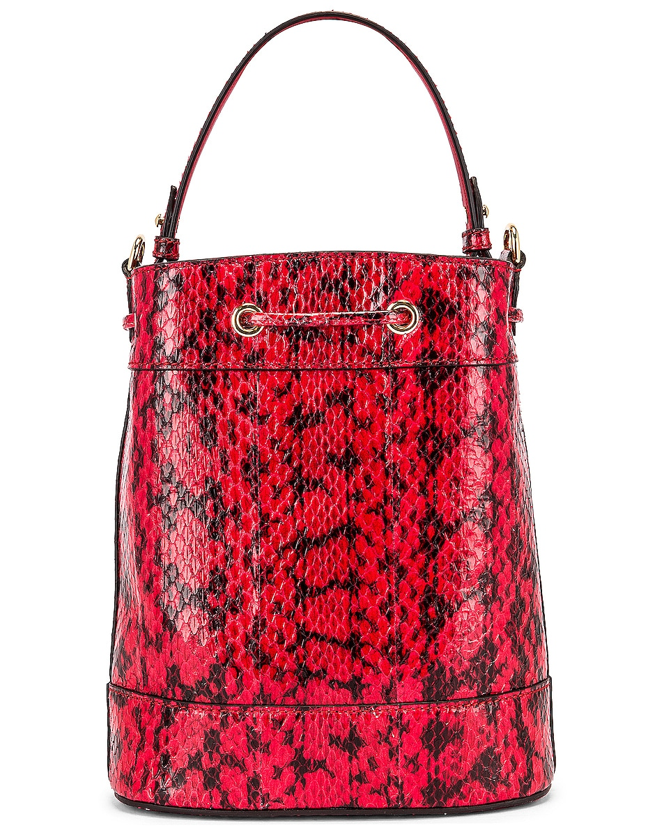 Image 3 of Gucci Ophidia Shoulder Bag in Hibiscus Red