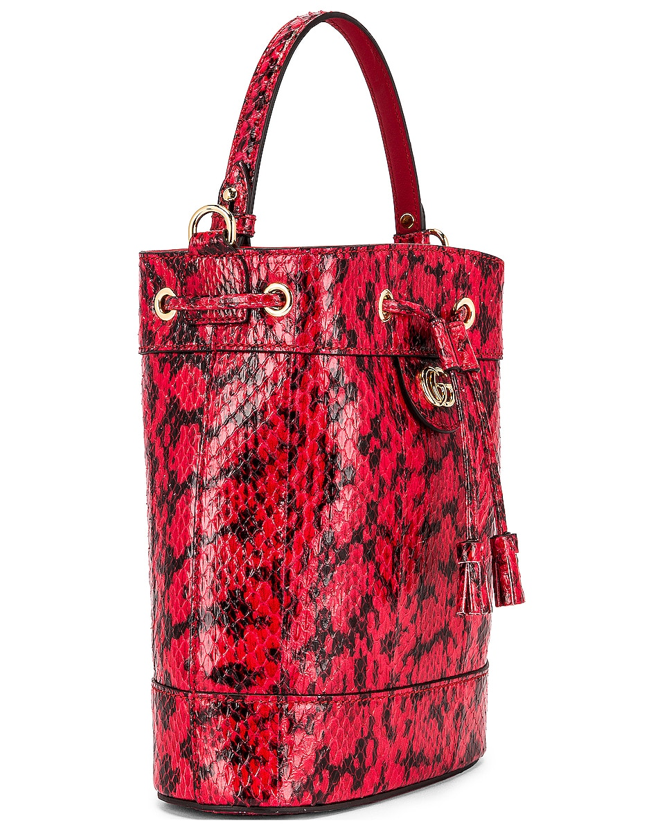 Image 4 of Gucci Ophidia Shoulder Bag in Hibiscus Red