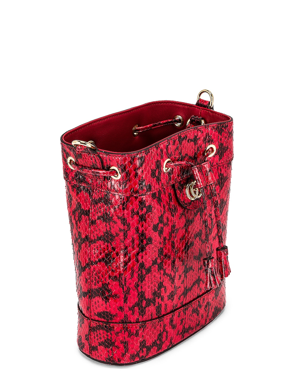 Image 5 of Gucci Ophidia Shoulder Bag in Hibiscus Red
