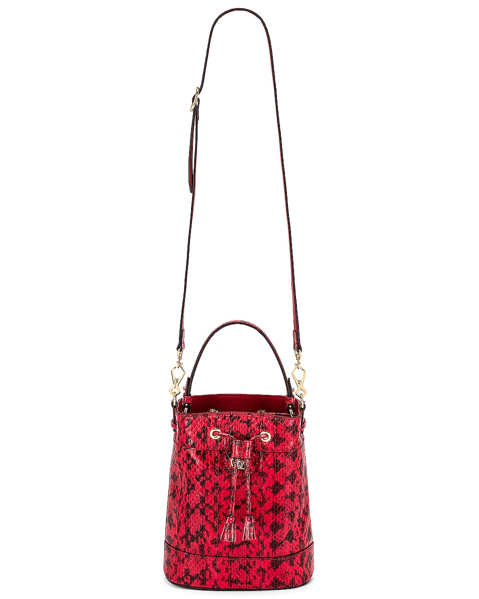 Image 6 of Gucci Ophidia Shoulder Bag in Hibiscus Red