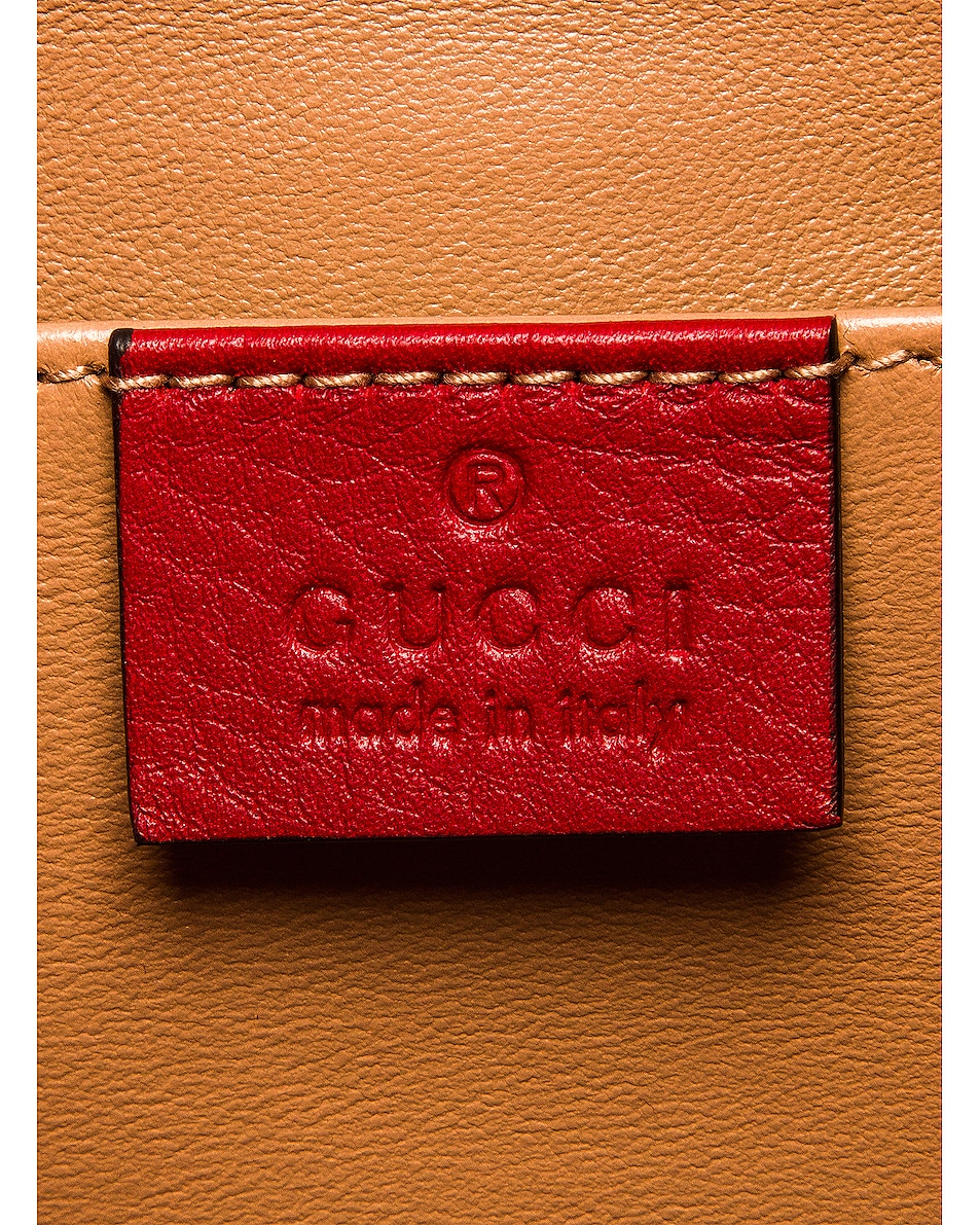 Image 7 of Gucci Ophidia Shoulder Bag in Hibiscus Red