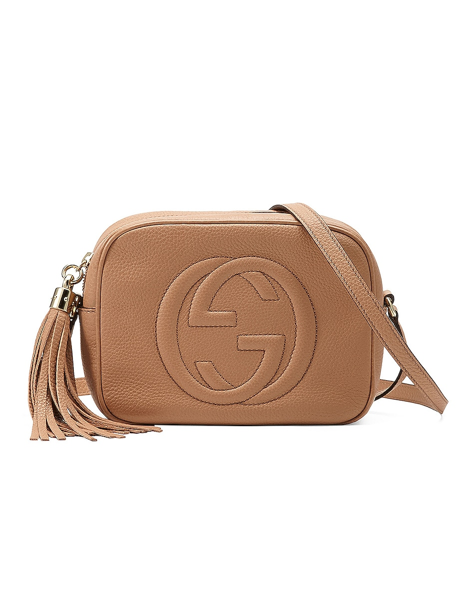 Image 1 of Gucci Soho Camera Bag in Camelia