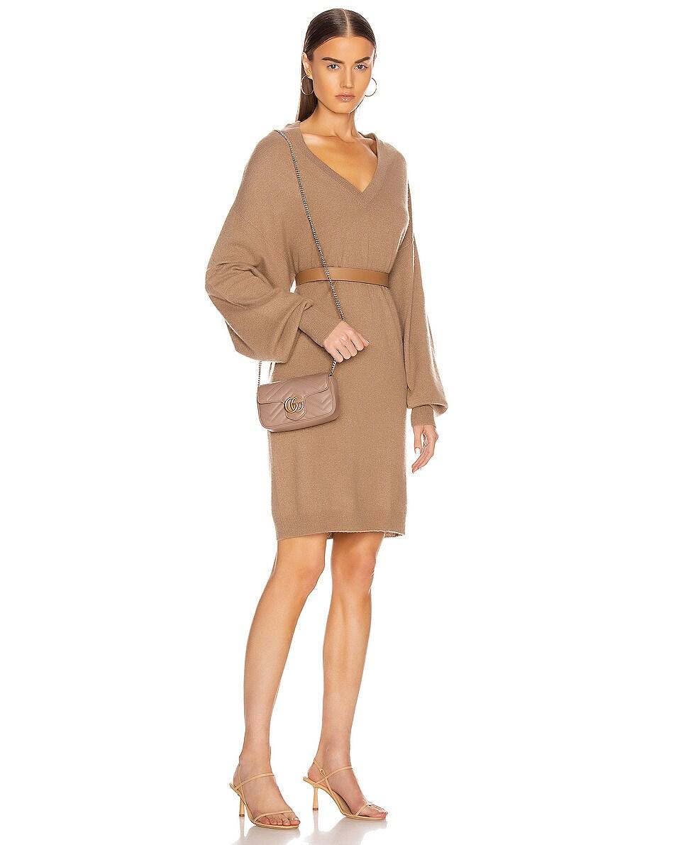 Image 2 of Gucci Super Mini Chain Shoulder Bag in Rose