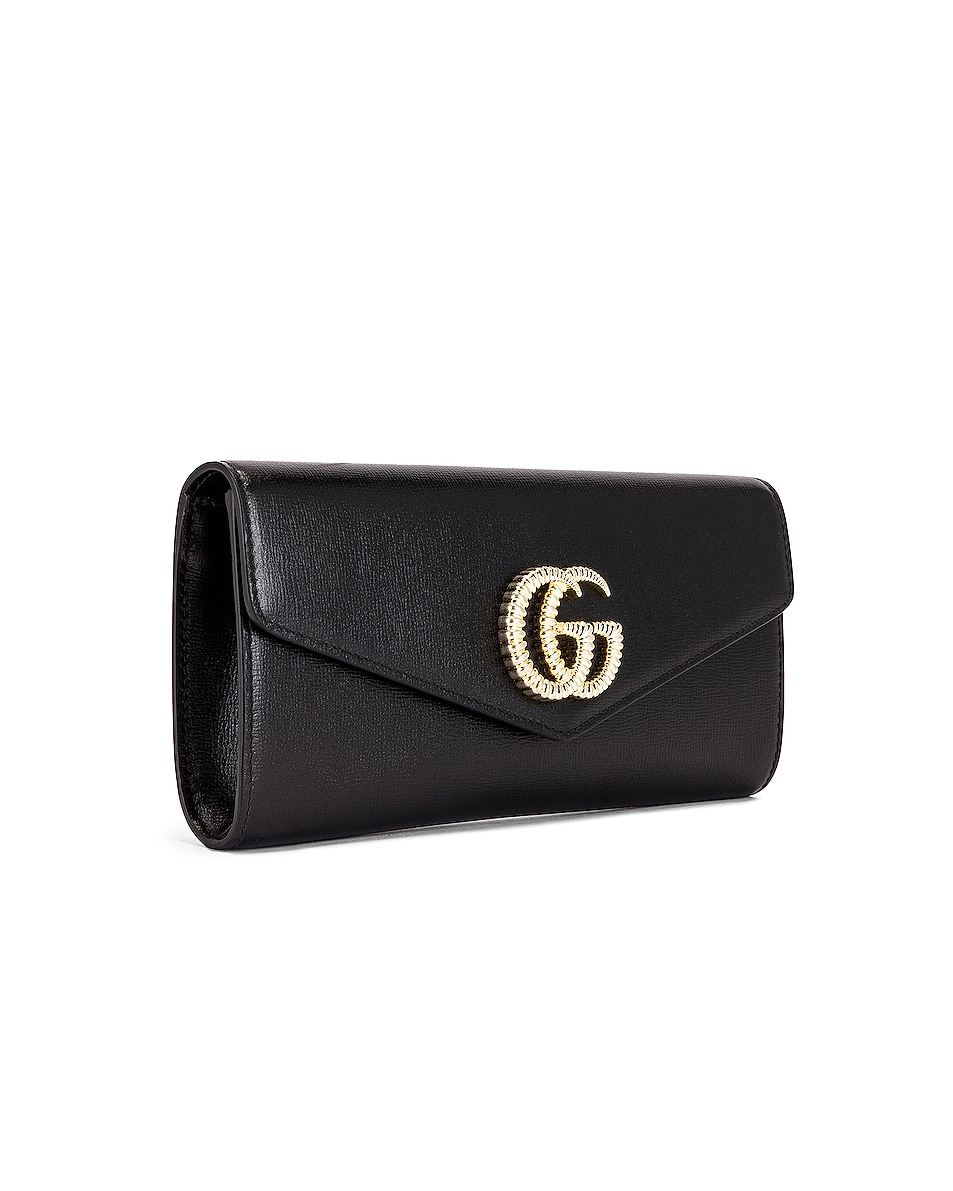 Image 4 of Gucci Broadway Evening Clutch in Black