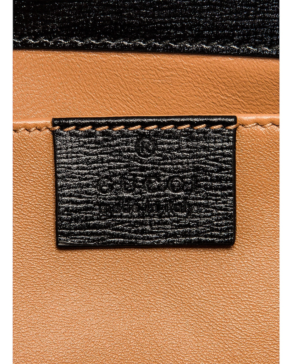Image 6 of Gucci Broadway Evening Clutch in Black
