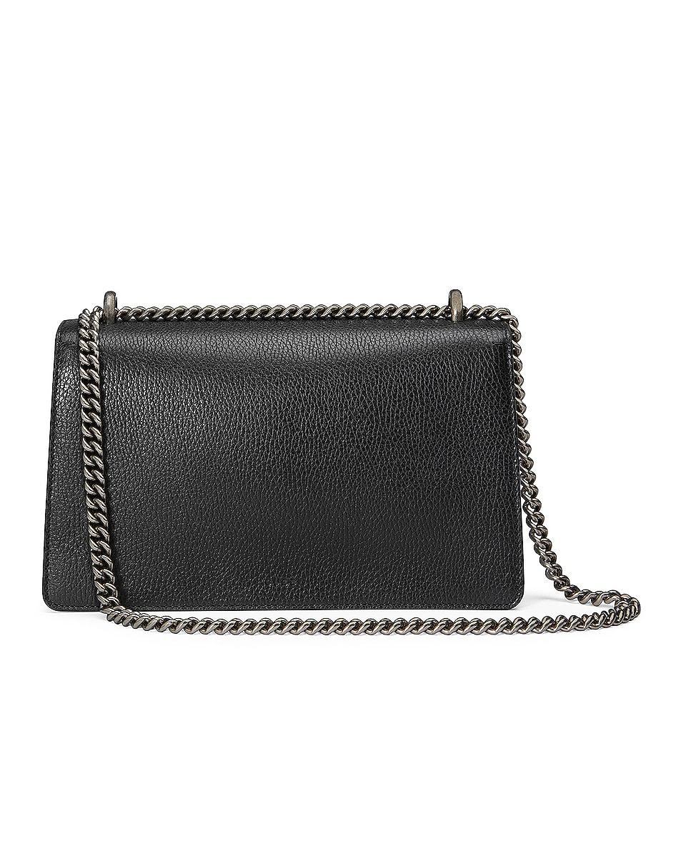 Image 3 of Gucci Dionysus Shoulder Bag in Black & Black Diamond