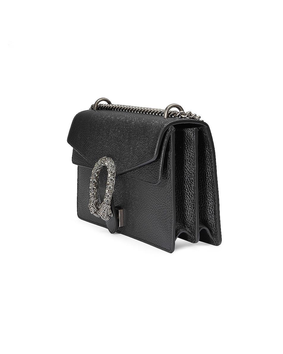 Image 4 of Gucci Dionysus Shoulder Bag in Black & Black Diamond