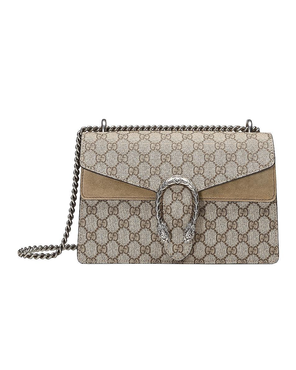 Image 1 of Gucci Dionysus GG Shoulder Bag in Beige Ebony & Taupe