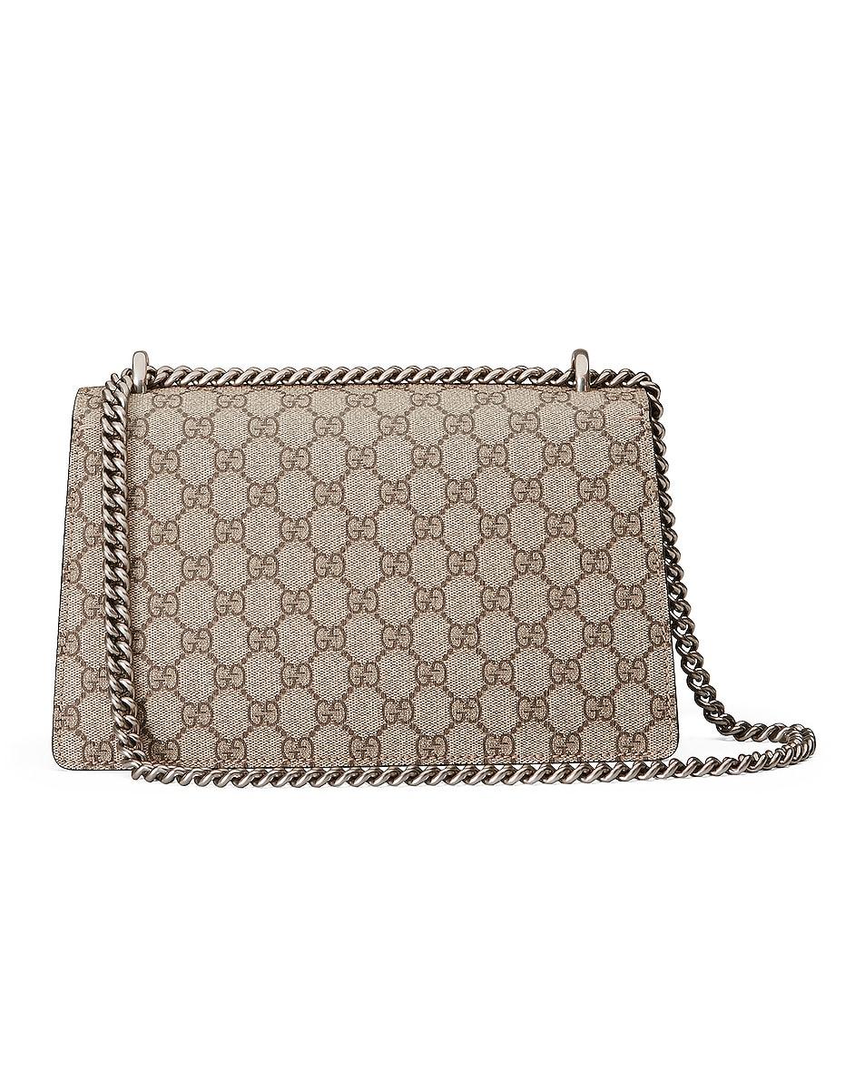 Image 3 of Gucci Dionysus GG Shoulder Bag in Beige Ebony & Taupe