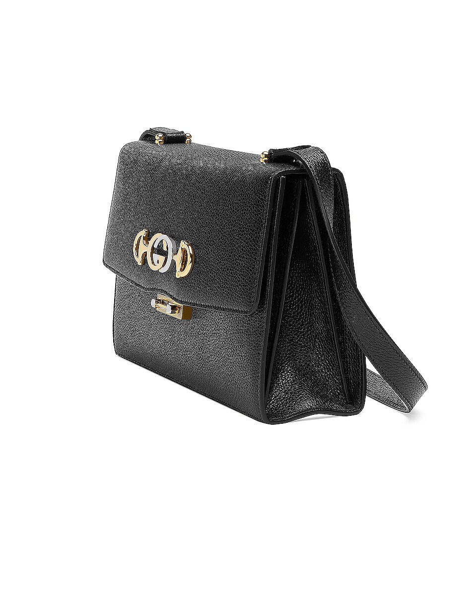 Image 4 of Gucci Zumi Box Shoulder Bag in Black