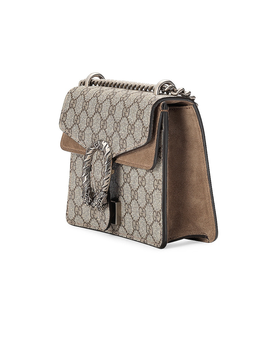 Image 4 of Gucci Dionysus GG Shoulder Bag in Beige Ebony & Taupe