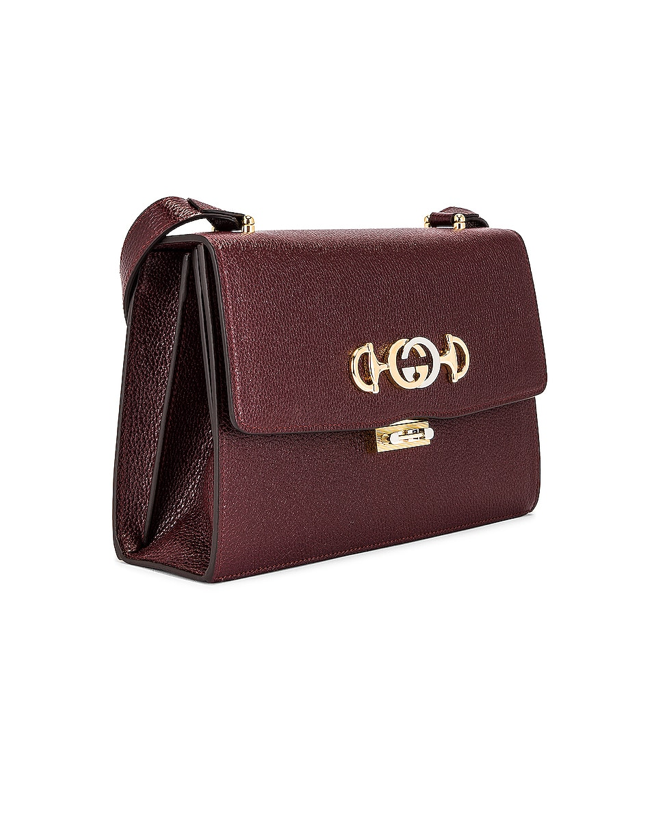 Image 4 of Gucci Zumi Box Shoulder Bag in Vintage Bordeaux
