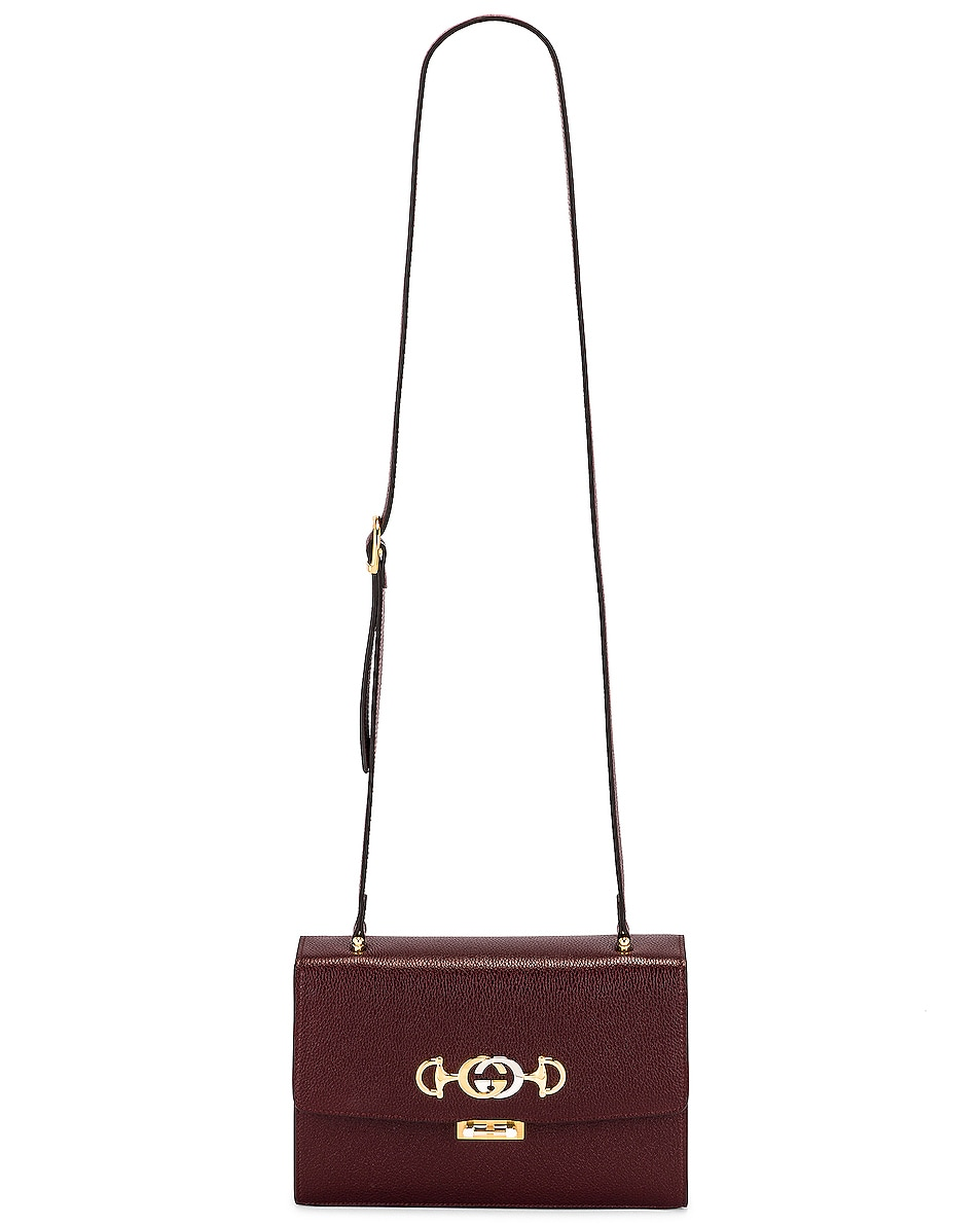 Image 6 of Gucci Zumi Box Shoulder Bag in Vintage Bordeaux
