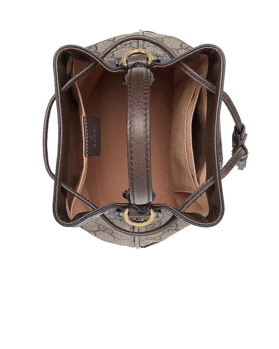 Image 5 of Gucci Ophidia GG Bucket Bag in Beige Ebony