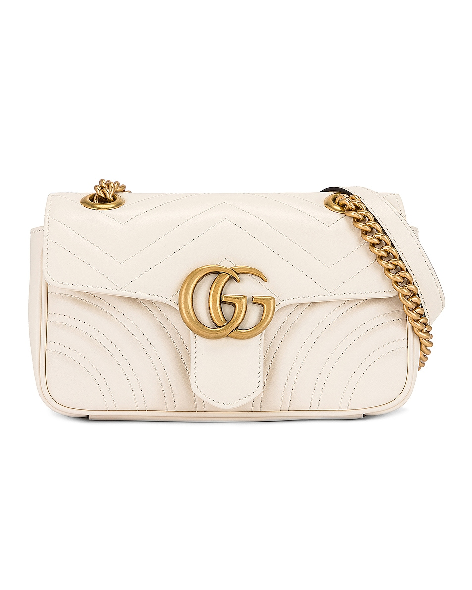 Image 1 of Gucci GG Marmont 2.0 Shoulder Bag in Mystic White
