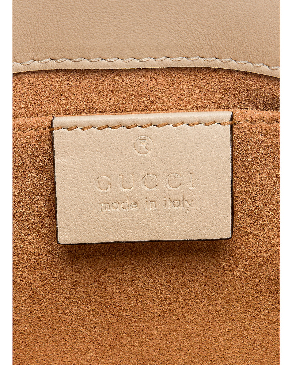 Image 7 of Gucci GG Marmont 2.0 Shoulder Bag in Mystic White