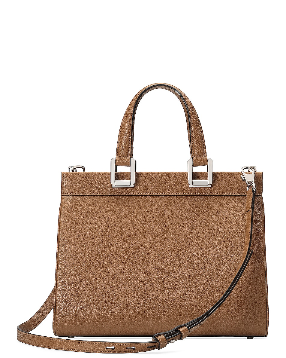 Image 3 of Gucci Zumi Top Handle Bag in Taupe