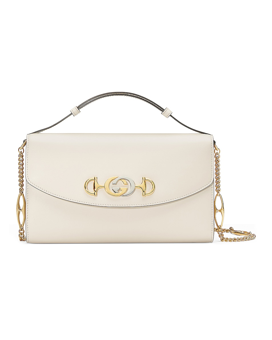 Image 1 of Gucci Zumi Shoulder Bag in Mystic White