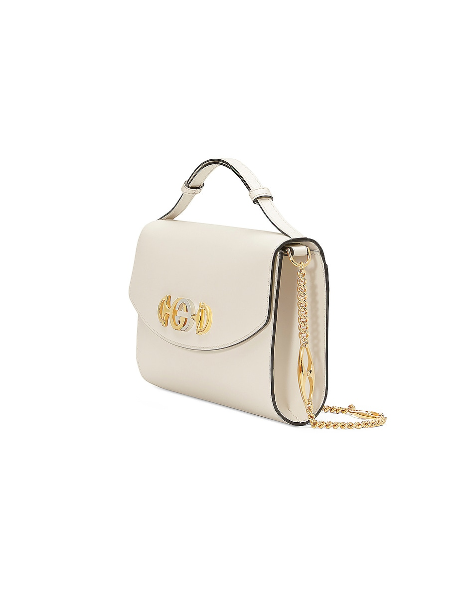 Image 4 of Gucci Zumi Shoulder Bag in Mystic White