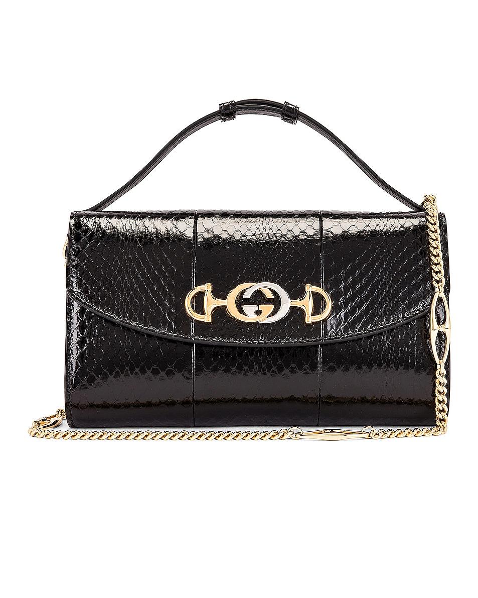 Image 1 of Gucci Zumi Shoulder Bag in Black