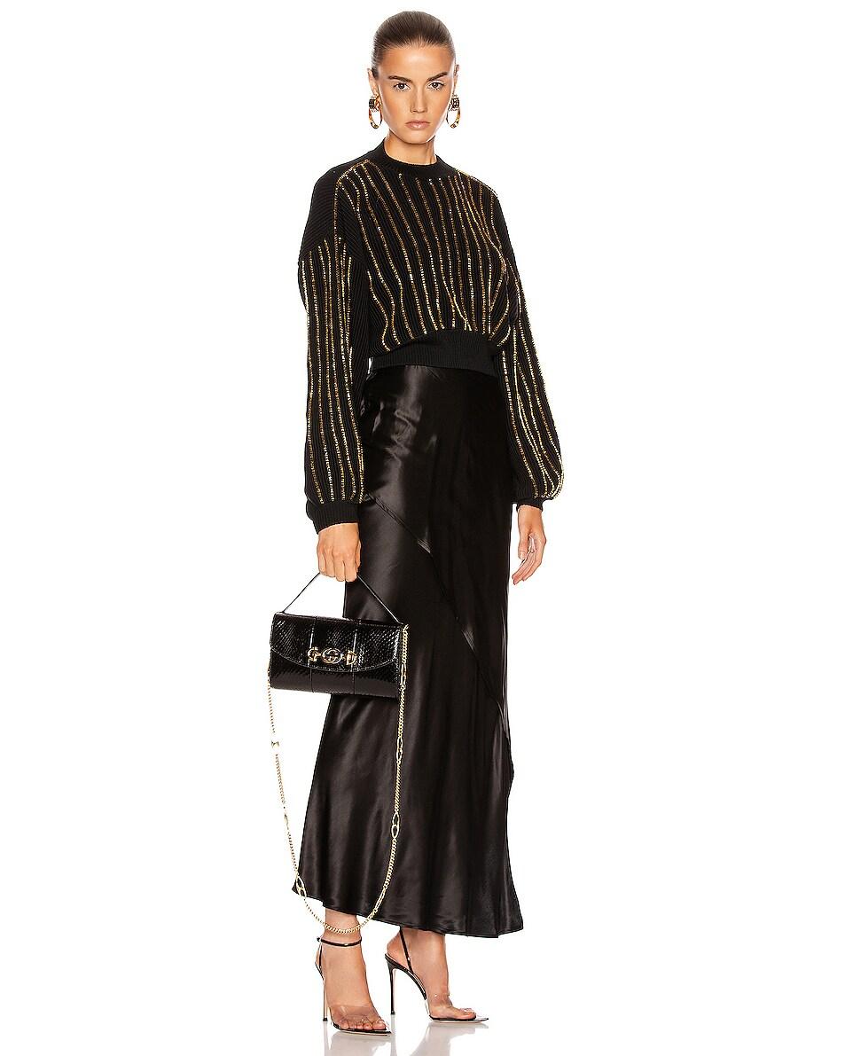 Image 2 of Gucci Zumi Shoulder Bag in Black