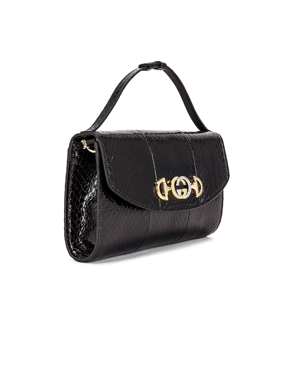 Image 4 of Gucci Zumi Shoulder Bag in Black