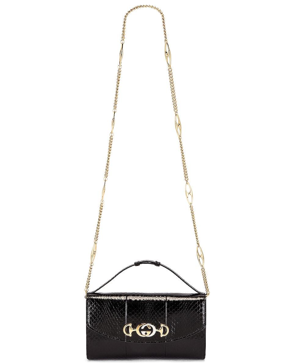 Image 6 of Gucci Zumi Shoulder Bag in Black