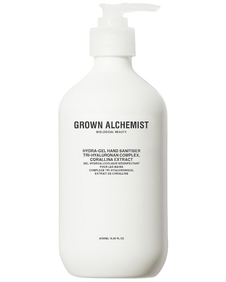 Image 1 of Grown Alchemist Hydra-Gel Hand Sanitizer in Tri-Hyaluronan Complex & Corallina Extract