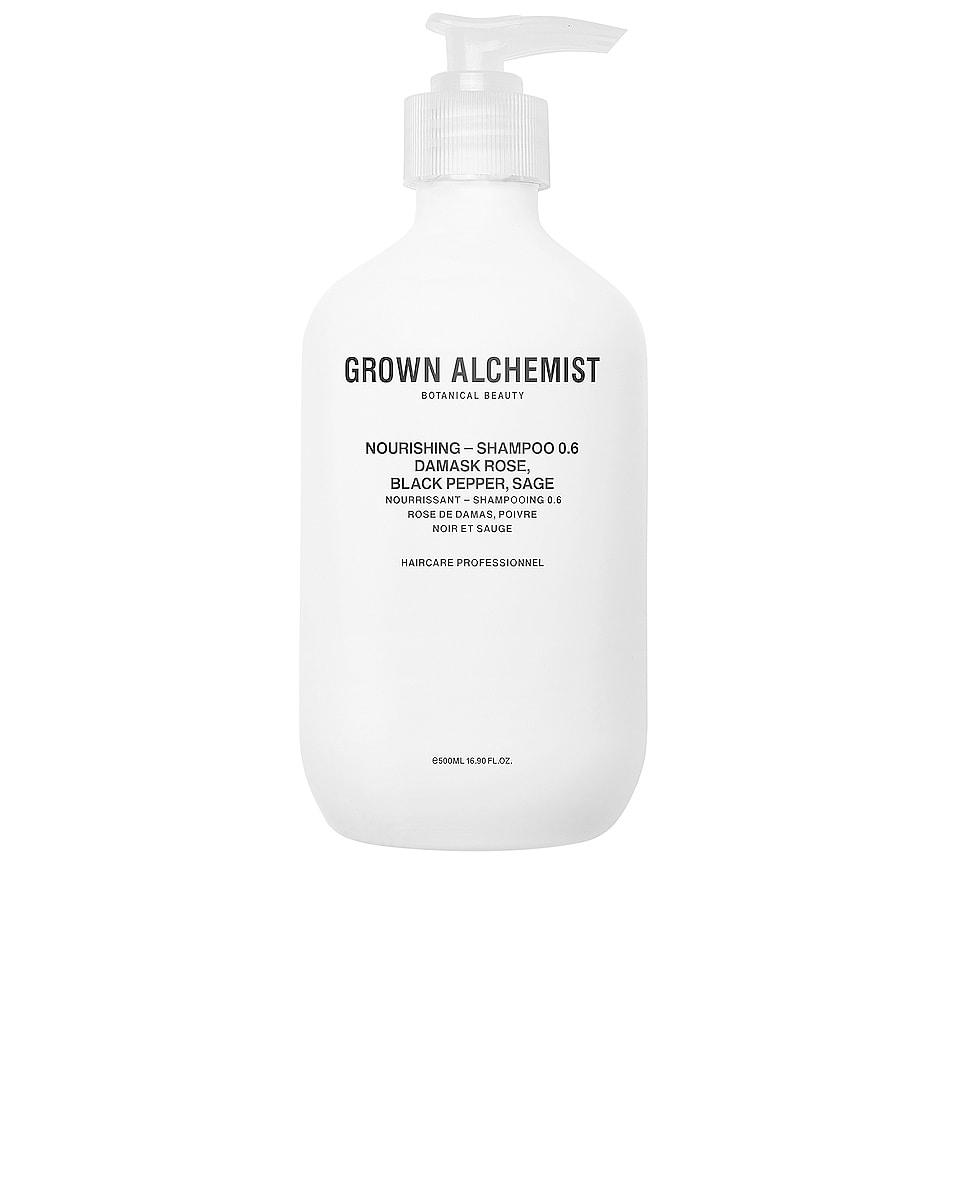 Image 1 of Grown Alchemist Nourishing Shampoo 0.6 in Damask Rose, Black Pepper & Sage