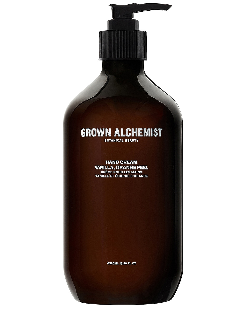 Image 1 of Grown Alchemist Hand Cream in Vanilla & Orange Peel