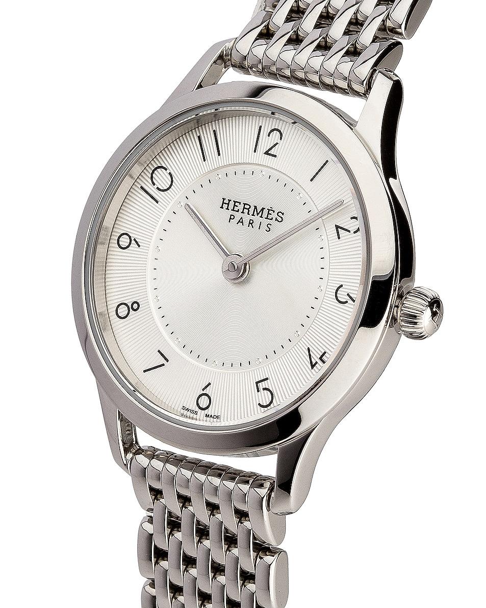 Image 2 of Hermes Slim d'Hermes pm in Silver