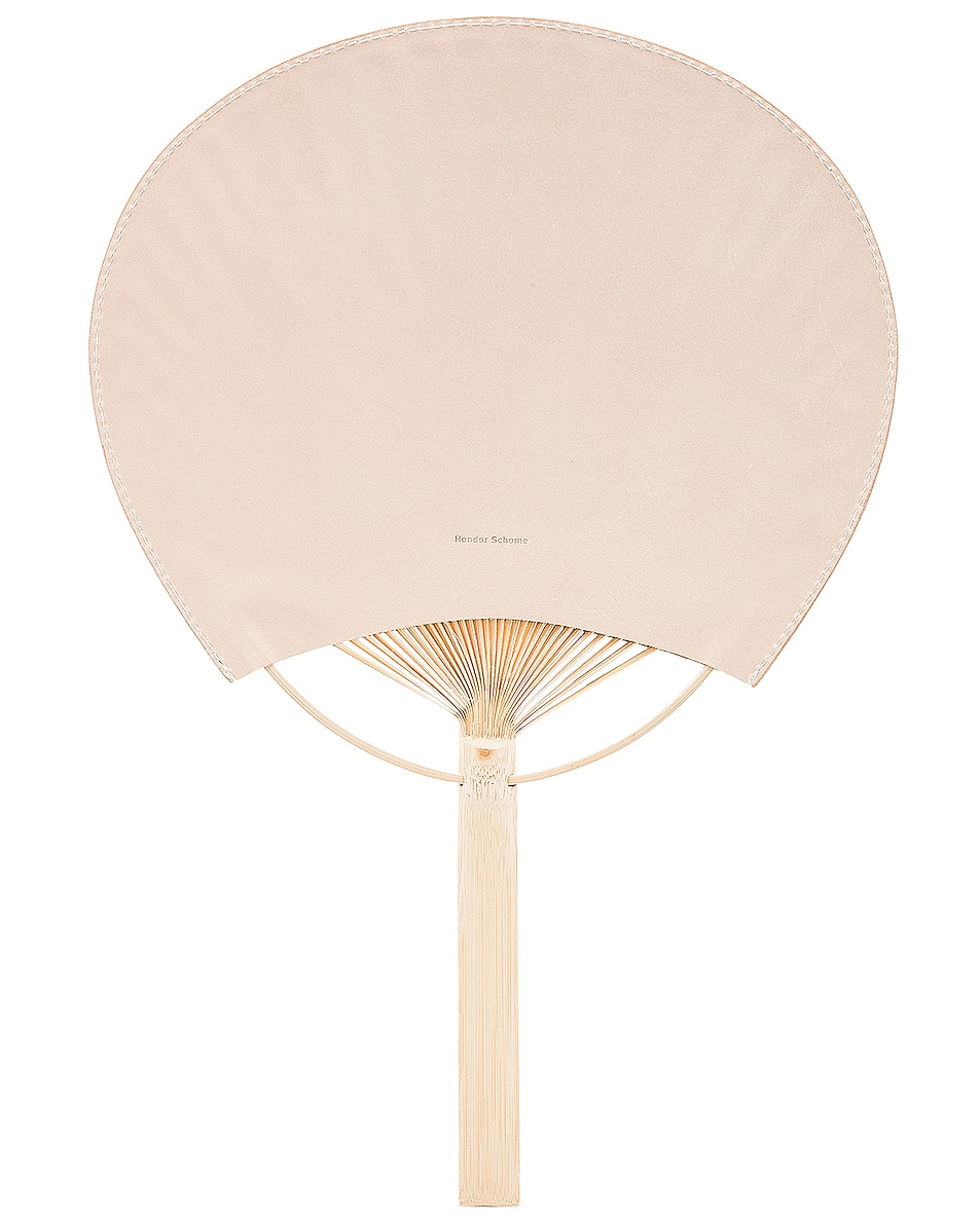 Image 1 of Hender Scheme Uchiwa Fan in Natural