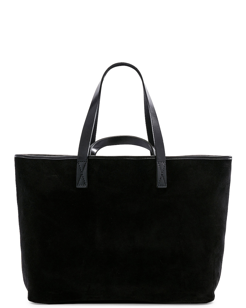 Image 2 of Hender Scheme Leather Tote in Black