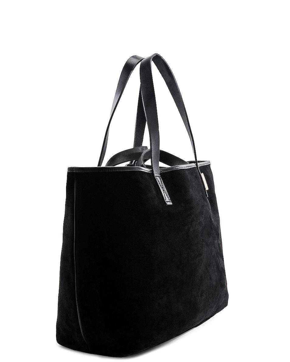 Image 3 of Hender Scheme Leather Tote in Black