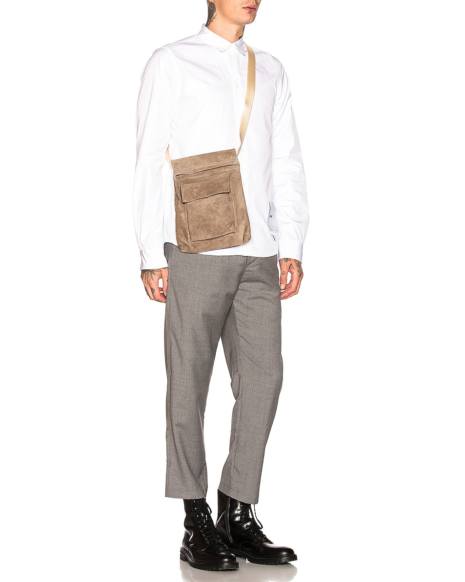 Image 2 of Hender Scheme Waist Belt Bag in Beige